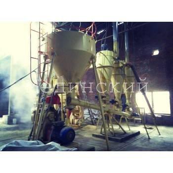 Production of straw pellets (straw granulation). Khmelnytsky region